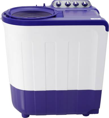 Whirlpool 7.5 kg 5 Star, Supersoak Technology Semi Automatic Top Load Purple