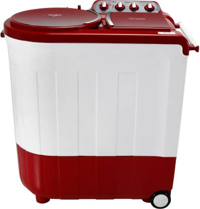 Whirlpool 8.5 kg Semi Automatic Top Load Red