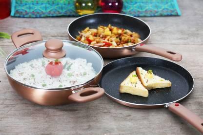 Prestige Omega Festival Pack - Build Your Kitchen Induction Bottom Cookware Set