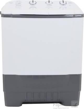 ONIDA 6.8 kg Semi Automatic Top Load Grey