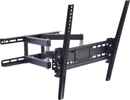 """MX Heavy Duty Dual Arm Lcd Monitor Stand 26 To 55"""" 180 Degree Rotation Led Wall Bracket Holder Full Motion TV Mount"""