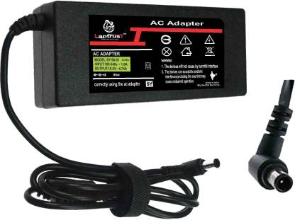Laptrust Adapter For 5sony19.5V 4.74A 90 W Adapter  (Power Cord Included)