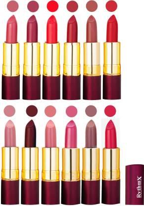 RYTHMX Dry Matte Lipstick Combo Set Of 12 Pcs