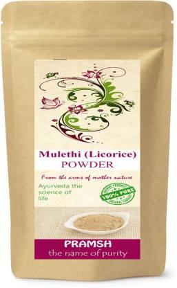 Pramsh Premium Quality Mulethi/Yastimadhu (Licorice) Powder