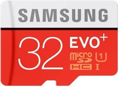 SAMSUNG 32 GB MicroSDHC Class 10  Memory Card
