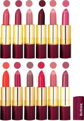 RYTHMX Dry Matte Lipstick Combo Set Of 12 Pcs 112