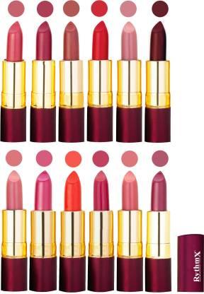 RYTHMX Dry Matte Lipstick Combo Set Of 12 Pcs 111