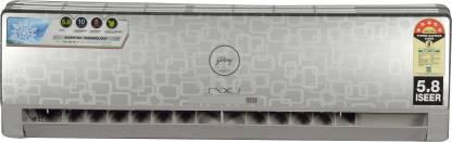 Godrej 1 Ton 5 Star Split Inverter AC  - Silver