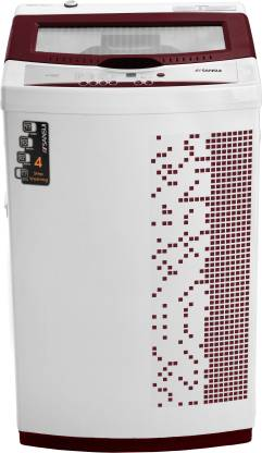 Sansui 6.5 kg Fully Automatic Top Load Maroon