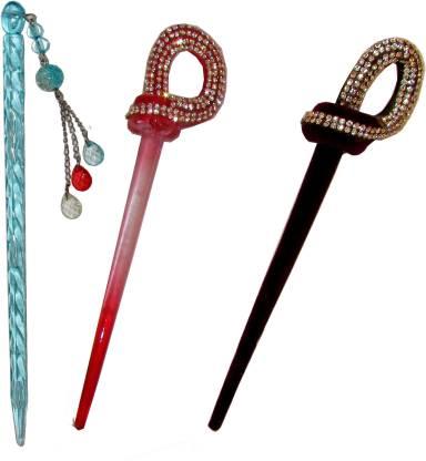 Pankh Juda Stick Hair Accessory Set