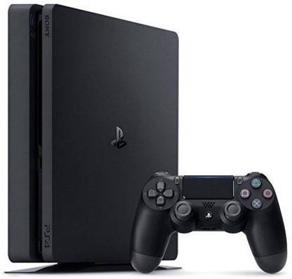 SONY PlayStation 4 Slim Console - 500 GB with Uncharted 4
