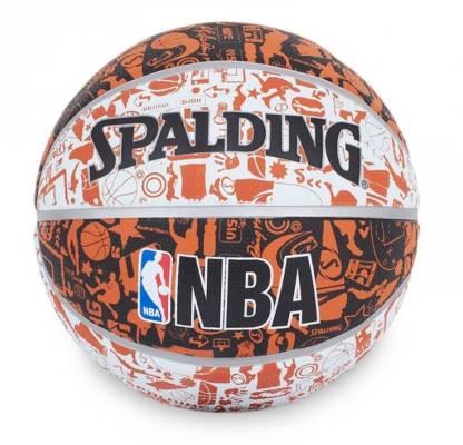 SPALDING NBA Graffiti Basketball - Size: 7