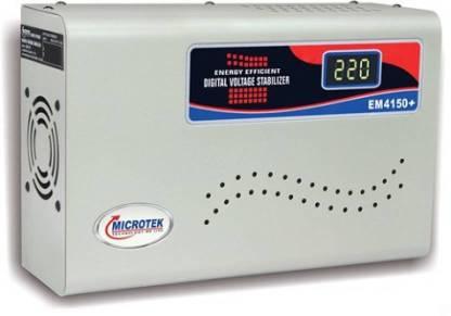 Microtek EM 4150+ MICROTEK STABILIZER for 1.5 Ton A.C (150V-280V) Voltage Stabilizer