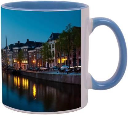 Arkist groningen canal Ceramic Coffee Mug