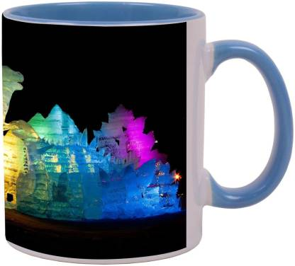 Arkist sapporo ice festival Ceramic Coffee Mug