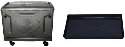 Surety for Safety Battery Trolley and Tray Trolley for Inverter and Battery