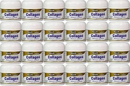 MASON VITAMINS Cream Made with 100% Pure Collagen Promotes Tight Skin Enhances Skin Firmness Jar PACK of 24