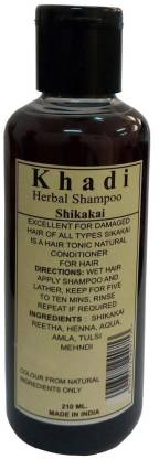 KHADI NATURAL HERBS Shikakai Shampoo