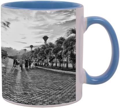 Arkist baywalk puerto princesa city 2 x16 Ceramic Coffee Mug