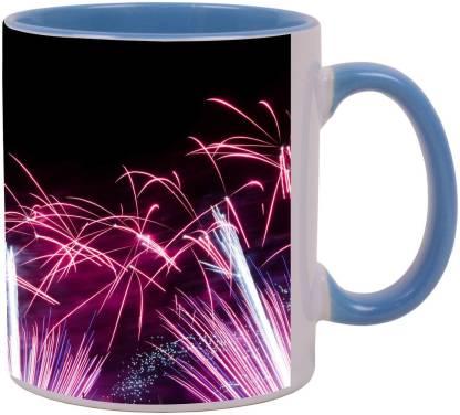 Arkist fireworks in kaohsiung Ceramic Coffee Mug