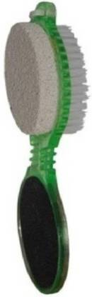 Bruzone Foot File With Pedicure Brush(4 in 1) Pack of 1