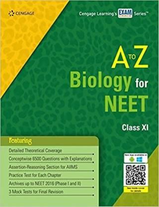 to Z Biology for NEET Class XI Paperback – 2017