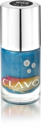 Clavo Long Wear Crème Nail Polish True Blue