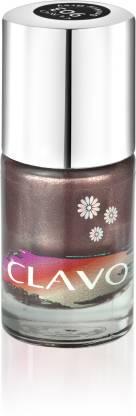 Clavo Long Wear Glossy Nail Polish Smokey Grey