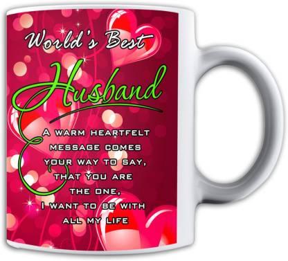 Noozarts Noozarts World's Best Husband Ceramic Coffee Mug