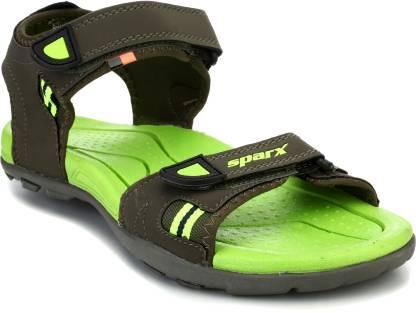 Sparx SS-466 Men Olive, Green Sandals