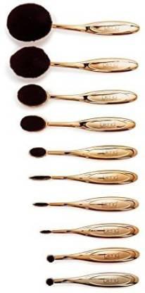 Blend Mineral Cosmetics Gold Wow Artist Brush Set