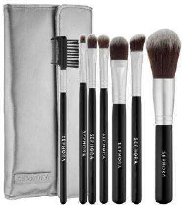 SEPHORA COLLECTION Deluxe Antibacterial Brush Set $145.00 Value, New!