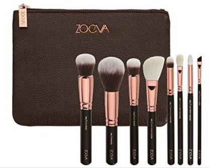 ZOEVA Makeup Brushes Set Rose Golden Luxury Set 8 Pennelli Makeup