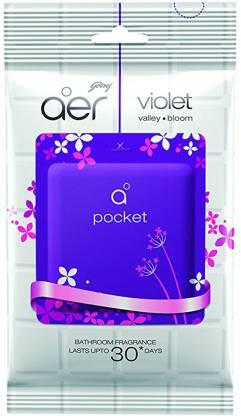 Godrej Aer Pocket Bathroom Fragrance - Violet Valley Bloom