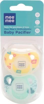 MeeMee Orthodontic Baby Pacifier Soother
