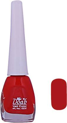 Doab Nail_Paint_Red Red