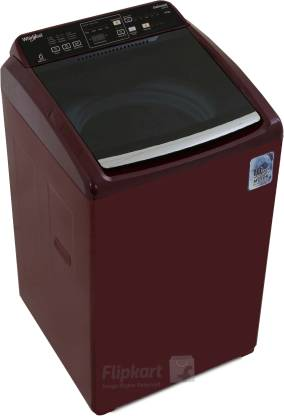 Whirlpool 6.5 kg Fully Automatic Top Load with In-built Heater Maroon