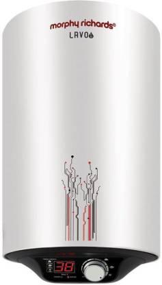 MORPHY 25 L Storage Water Geyser (Lavo EM Digital, Silver White)