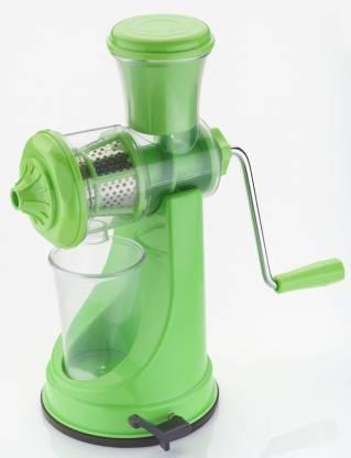 Magikware Plastic Hand Juicer Green Elegant Fruit & Vegetable