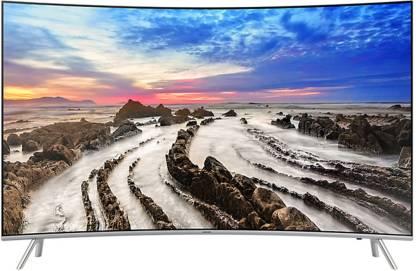 SAMSUNG Series 7 138 cm (55 inch) Ultra HD (4K) Curved LED Smart TV