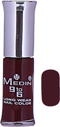 MEDIN Nail_Paint_Brown for female Brown