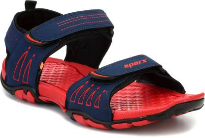 Sparx SS-805 Men Navy, Red Sports Sandals