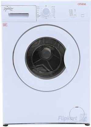 ONIDA 6 kg Fully Automatic Front Load with In-built Heater White