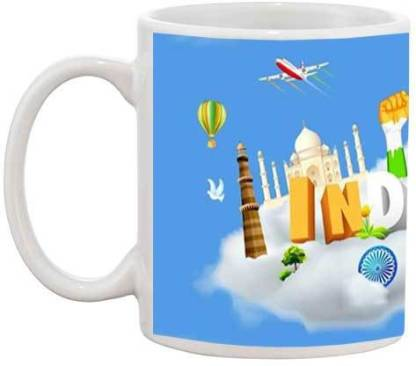 TIA Creation India Culture - 741 Ceramic Coffee Mug