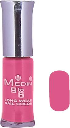 MEDIN Nail_Paint_Pink for girls Pink