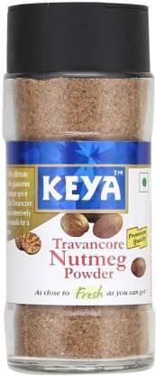 keya Travancore Nutmeg Powder, 65g (Pack of 2)