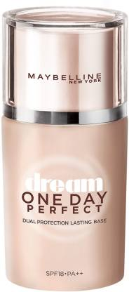 MAYBELLINE NEW YORK Dream One Day Perfect SPF 18 PA++ Primer  - 25 ml
