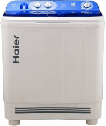 Haier 9 kg Semi Automatic Top Load White, Blue