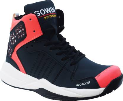 Gowin By Triumph Neo Boost_Navy/Pink Basketball Shoes For Men