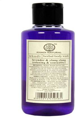 KHADI NATURAL Lavender & Ylang Ylang Body Wash(1 PACK)